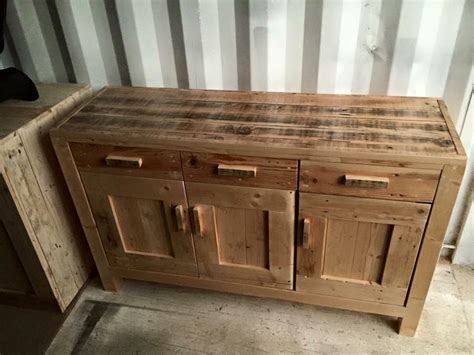 Handmade Furniture Plans - diy pallet cabinet unit pallet furniture plans