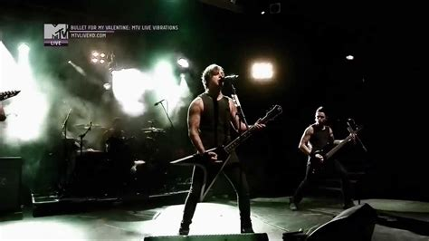 bullet for breaking point live mtv