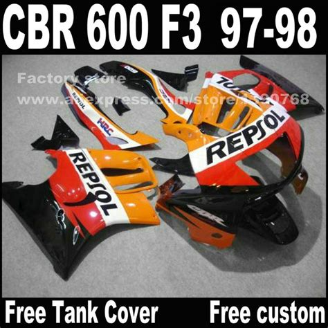 honda cbr 600 yellow motorcycle parts for honda cbr 600 f3 fairings 1997 1998