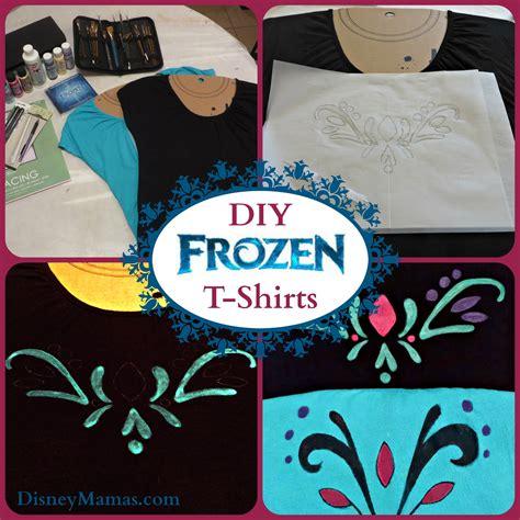 Disney Mamas Diy Disney Frozen Inspired T Shirts Disney Mamas Diy Disney Shirt Template