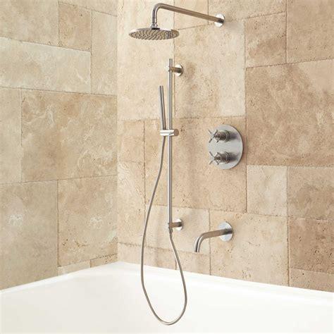 kennedy thermostatic tub amp shower system bathroom