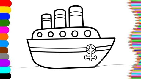 pics to color innovative pics to colour in ship coloring page name and