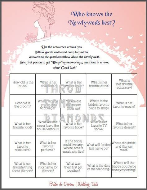 braut quiz jga 17 best images about bridal shower ideas on pinterest