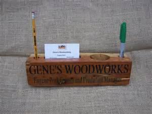 wood desk name plates wood desk cedar organizer name plate by geneswoodwerks