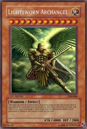 Yugioh Deck Lightsworn Original lightsworn archangel yu gi oh card maker wiki fandom