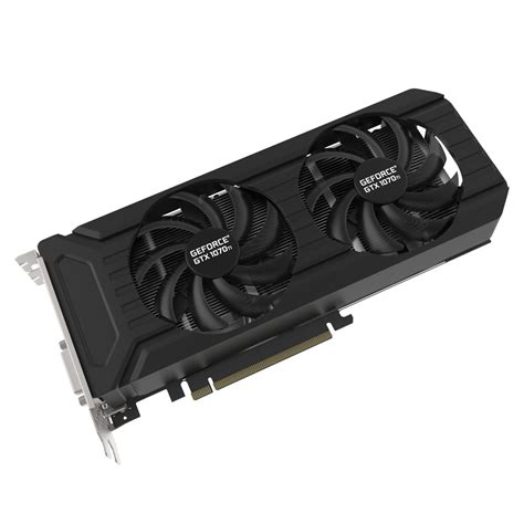 pny 1070 dual fan pny geforce gtx 1070 ti dual fan edition carte graphique