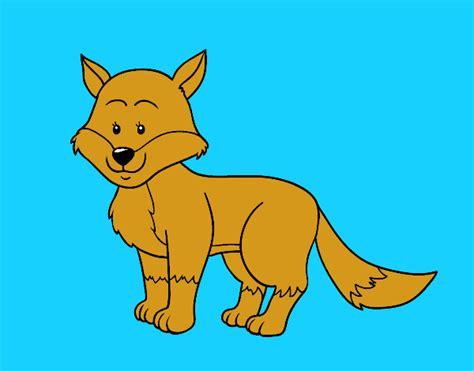 imagenes de un zorro para dibujar faciles dibujo de un zorro pintado por en dibujos net el d 237 a 06 05