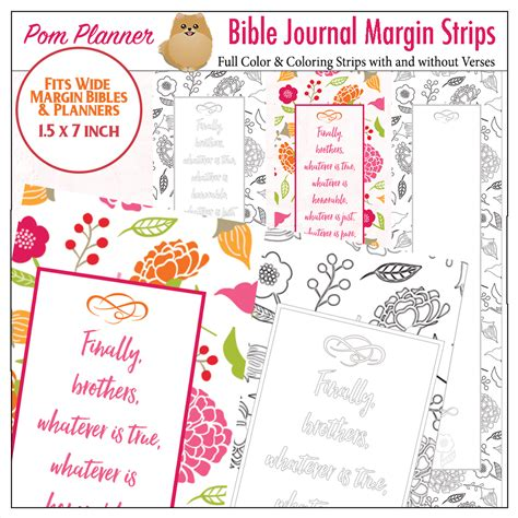 printable bookmark planner free bible verse coloring bookmark fits bible journal
