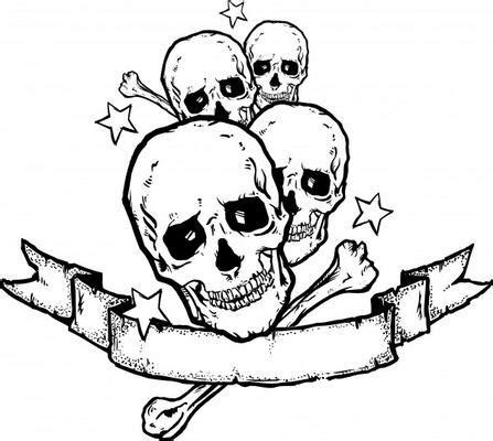 heavy metal tattoo designs chris kingheavy metal rock banner 5 point