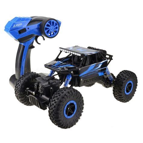 Rc Rock Crawler 4wd 2 4 Ghz Blue Black rc car 4wd 2 4ghz rock crawlers rally climbing car blue free shipping dealextreme