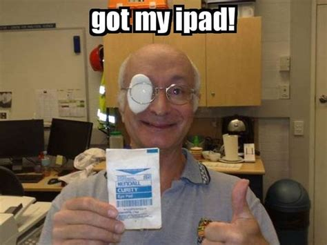 Eye Pad Meme - techtuesday errr yes well technically it is an