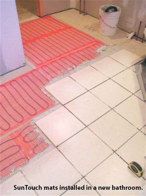 suntouch electric radiant floor heat mats kit 10 s des