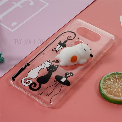 Squishy 3d 1 Silicon Tpu Soft Cover Samsung Berkualitas 1 squishy 3d pinch cat squish silicone tpu for lg v20 black and white cat