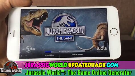 Jurassic World The Game Hack Free Coins Cash Dna And | 2017 100 working jurassic world the game hack free
