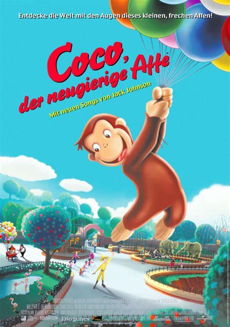 Film Coco Der Neugierige Affe | filmplakat coco der neugierige affe 2006 plakat 2