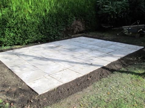Shed Base Paving Slabs by Shed Windows And More 843 293 1820