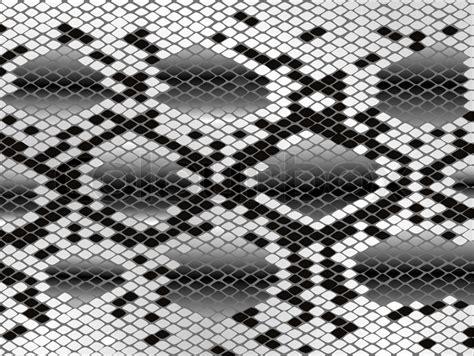 snake pattern black and white snake skin pattern in black and white stock vector