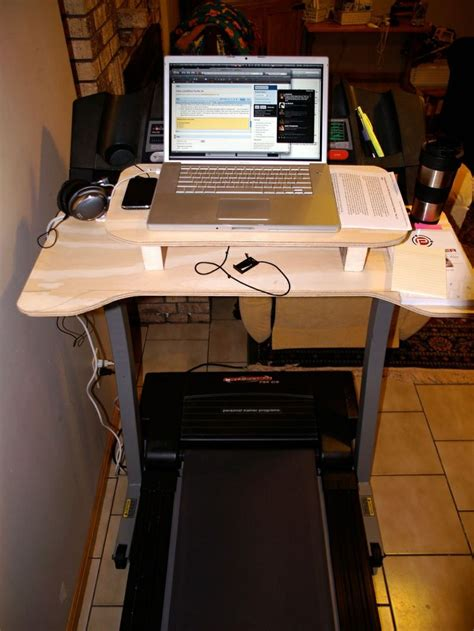 Treadmill Desk Diy Diy Treadmill Desk Crafts Pinterest