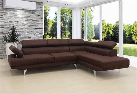 Contemporary Sectional Sofas With Chaise Contemporary Brown Sectional Sofa Chaise Sectionals