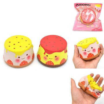 Squishy Hello Pudding areedy squishy pudding 10cm rising original packaging