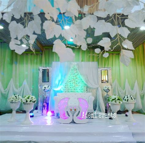 Wedding Decorations Nigeria by Pictures Of Lovely Wedding Reception Decorations And Cakes