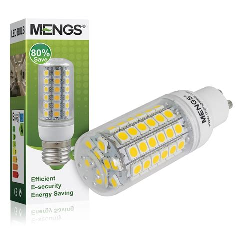 led corn light bulb mengsled mengs 174 gu10 9w led corn light 69x 5050 smd leds