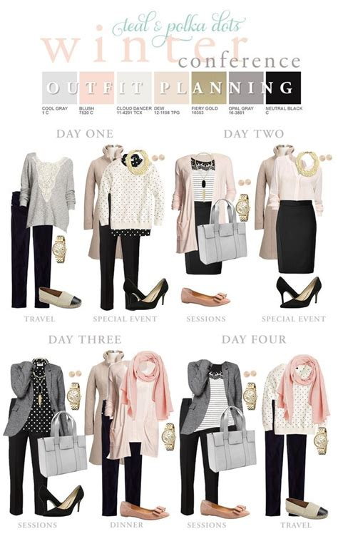 work clothes on pinterest capsule wardrobe nordstrom teal and polka dots winter work trip packing list