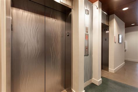 Exterior Wood Doors With Glass Panels stainless steel elevator doors architectural forms