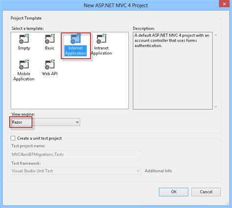 asp net mvc section asp net mvc 4 entity framework scaffolding and migrations
