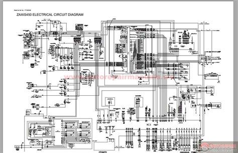 hitachi excavator zaxis 450 service manual auto repair