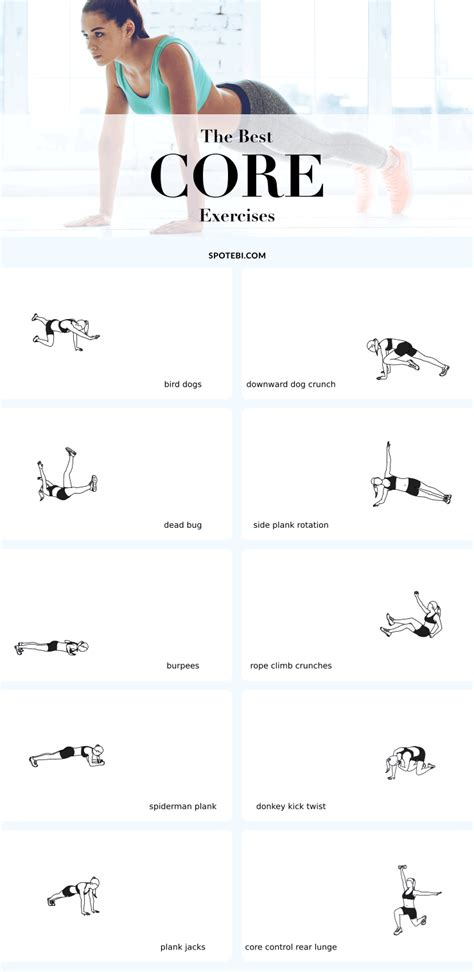 top 10 exercises to challenge tighten strengthen your groups exercises and muscles