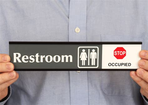 bathroom occupied sign restroom vacant occupied slider sign with graphic sku