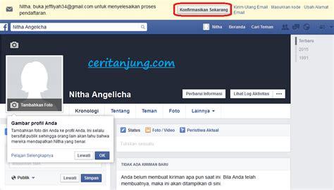 cara membuat web facebook cara membuat akun facebook baru dengan mudah