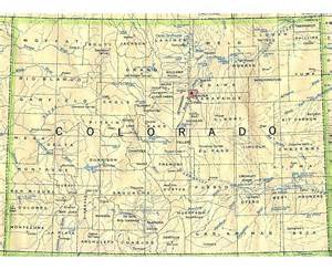 maps of colorado state collection of detailed maps of