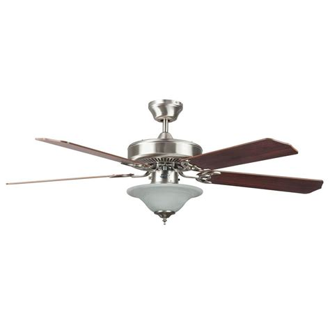 Stainless Steel Ceiling Fans With Lights Radionic Hi Tech Nevaeh 52 In Stainless Steel Ceiling Fan With Light Kit And 5 Blades Lum Fan