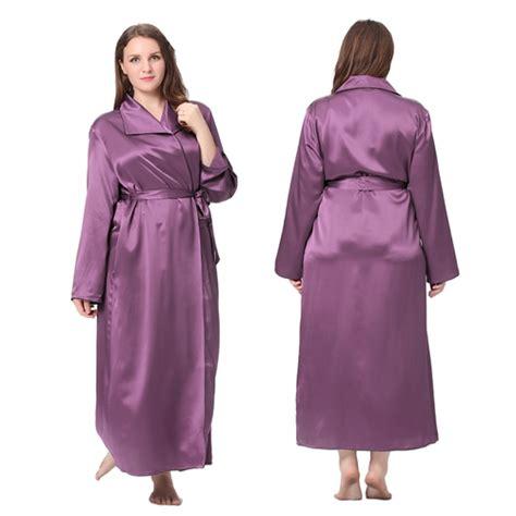 robe de chambre en soie robe de chambre femme en soie 22 momme grande taille lilysilk
