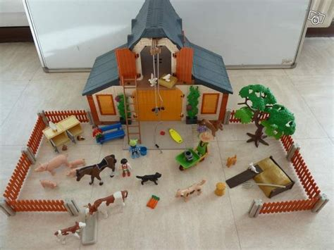 Grange Playmobil by Les 25 Meilleures Id 233 Es De La Cat 233 Gorie Ferme Playmobil
