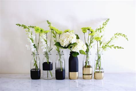 Diy Vase by Diy Color Block Vases Song Of Style