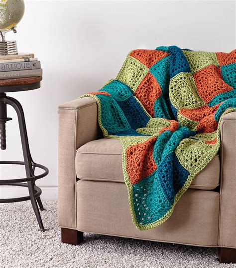 decke patchwork how to knit a patchwork blanket jo