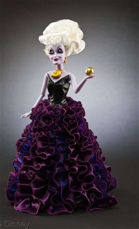 limited edition disney villains designer dolls ursula