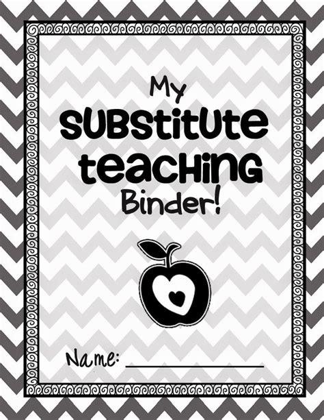 25 Best Substitute Teacher Binder Ideas On Pinterest Sub Folder Substitute Folder And Sub Binder Substitute Folder Template