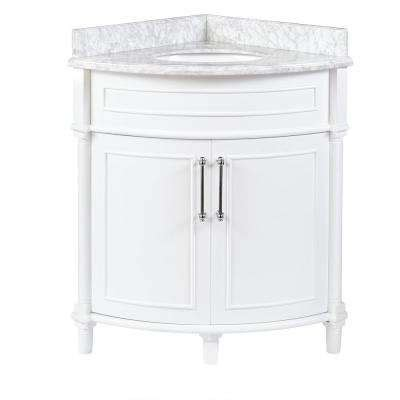 Corner Bathroom Vanity Tops Corner Bathroom Vanities Bath The Home Depot