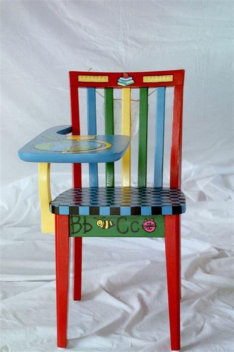 Handmade Childrens Chairs - best 25 painted school desks ideas on