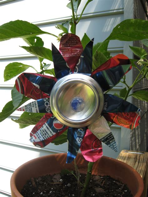 soda can crafts for soda can flower family crafts