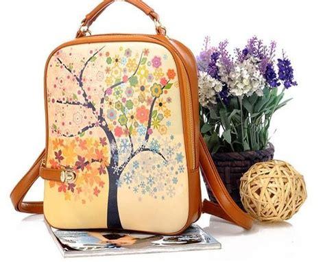 Zooey Backpack Tas Ransel Wanita Import Bahan Pu Hitam Diskon 2 jual printed backpack tas ransel wanita import backpack city
