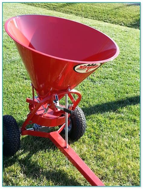 pull type fertilizer spreader  sale home improvement