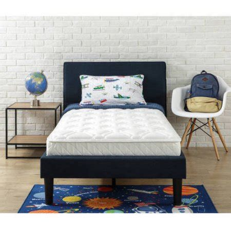walmart youth beds slumber 1 youth 6 bunk bed mattress with moisture