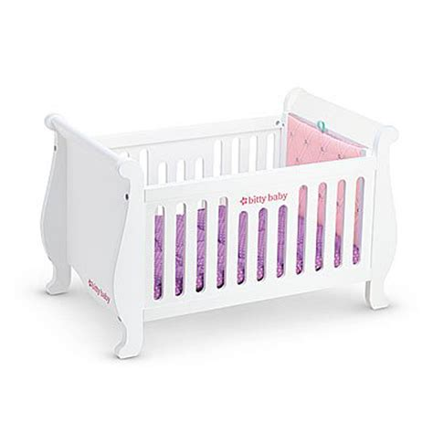 American Crib by American Bitty Baby Sweet Dreams Crib For 15 Quot Baby