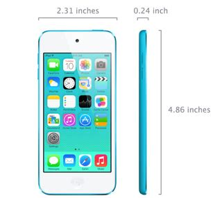 ipod touch (5th generation) technical specifications