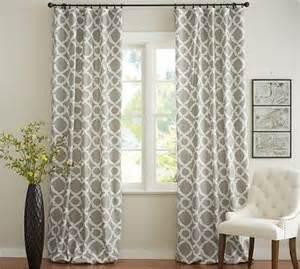 trellis design curtains kendra trellis pole pocket 50 x 63 quot brownstone